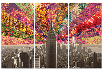Bianca Green - Flowers of New York Canvas Print
