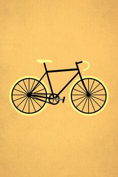 Canvas Print Bicycle Love