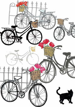 Bicycles, 2013 Canvas Print