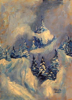 Big Horn Peak, 2009 Canvas Print