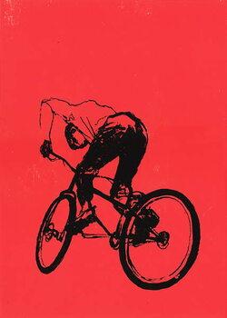 Biker Boy Canvas Print