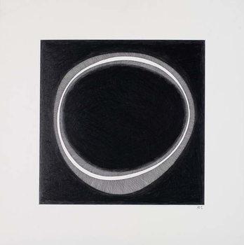 Black Circle Canvas Print
