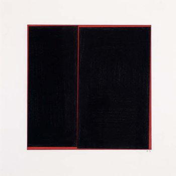 Black Slab Canvas Print