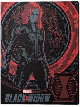 Canvas Print Black Widow - Off the Grid