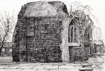 Blackfriers Chapel St Andrews, 2007, Canvas Print