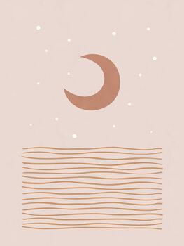 Canvas Print Blush Moon