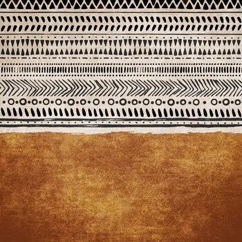 Canvas Print Boho Structures 02