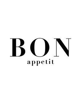 Canvas Print bon appetit 3