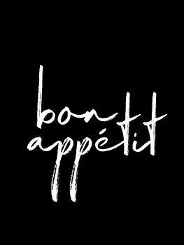 Canvas Print Bon appetit