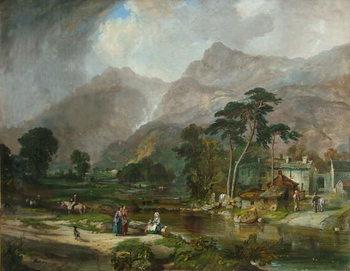 Borrowdale, 1846 Canvas Print