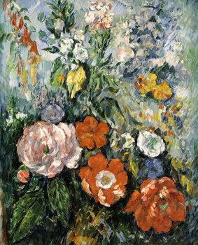 Canvas Print Bouquet of Flowers