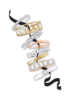 Canvas Print Bracelets