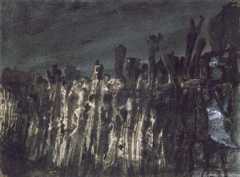 Breakwater in Jersey Canvas Print