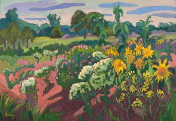 Brookside Pomp, 2011 Canvas Print