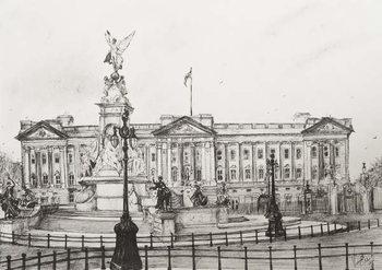 Canvas Print Buckingham Palace, London, 2006,