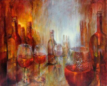 Canvas Print Burgundy