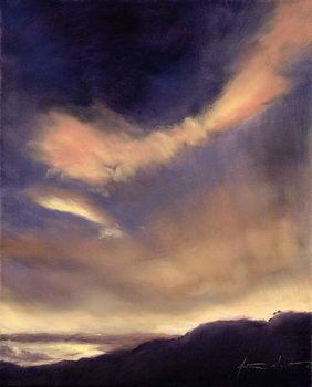 Butterfly Clouds, 2002 Canvas Print