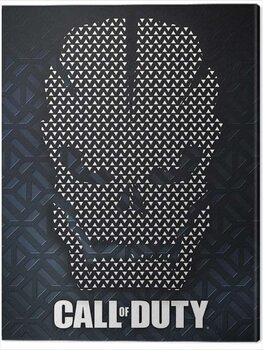 Canvas Print Call of Duty - Scale Armor Skull