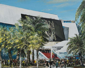 Canvas Print Cannes 2014, 2014,