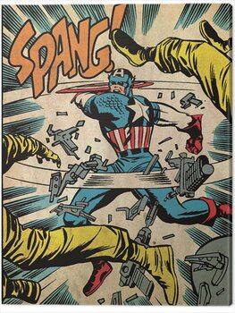 Canvas Print Captain America - Spang