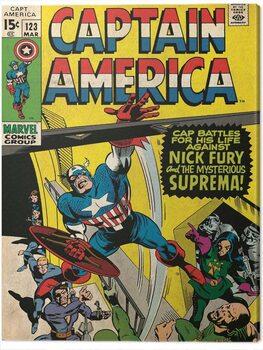 Canvas Print Captain America - Superman