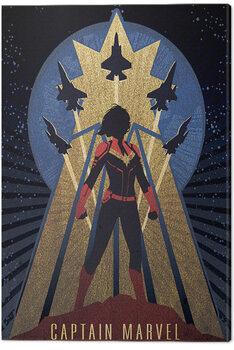 Canvas Print Captain Marvel - Deco