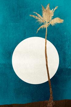 Canvas Print Carribean Dreams GOLD
