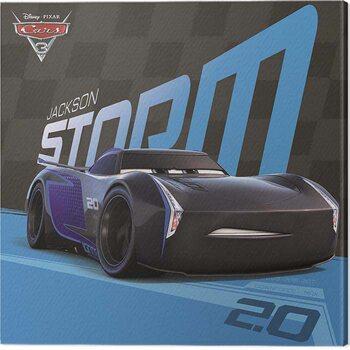 Canvas Print Cars 3 - Jackson Storm
