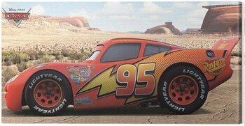 Canvas Print Cars - Lighting McQueen - Sideshot