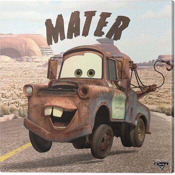 Canvas Print Cars - Mater