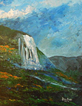 Caskad lakay, 2015 Canvas Print