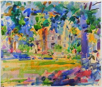 Cedar Hill, Manhattan Canvas Print