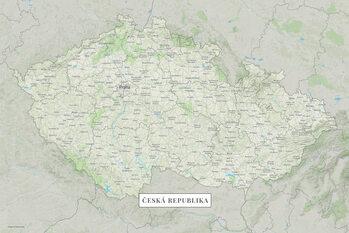 Canvas Print Česká republika color
