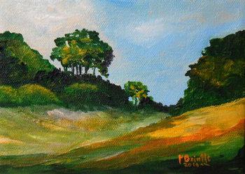 Chardonnette stroll, 2016 Canvas Print