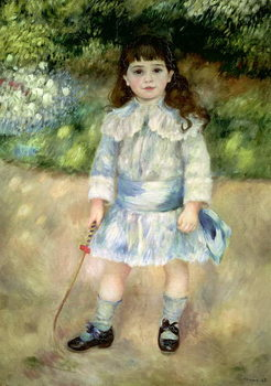 Child with a Whip, 1885 Canvas Print