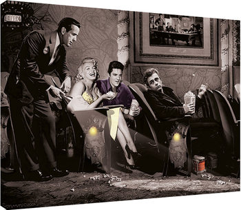 Chris Consani - Classic Interlude Canvas Print