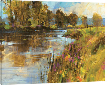 Chris Forsey - Spring River Canvas Print