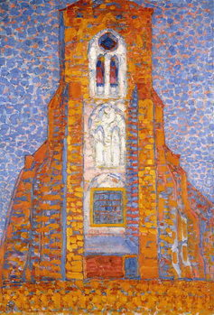 Church of Eglise de Zoutelande, 1910 Canvas Print