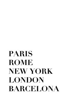 Canvas Print cities 1