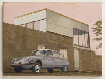 Citroen by Modern House Canvas Print