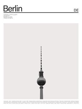 City Berlin 2 Canvas Print