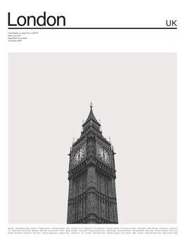 Canvas Print City London1
