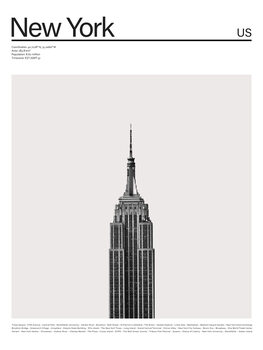 Canvas Print City New York 2