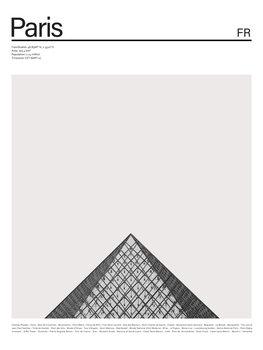 City Paris 1 Canvas Print