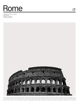 City Rome 1 Canvas Print