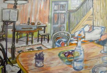Clare Lise's Music Studio, Canvas Print