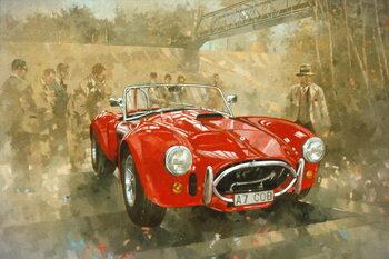 Cobra at Brooklands Canvas Print