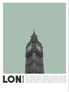 Canvas Print Col London 2