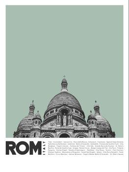 Canvas Print Col Rome 1