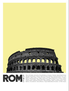 Canvas Print Col Rome 2